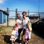 The Family after Run or Dye