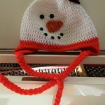 New cute Snow man hat from Wrapped in Hope
