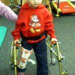 Quinn walking post surgery