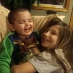 Quinn and his big sister Skylar!